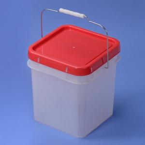 12L Plastic Square bucket