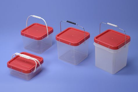 8L Plastic Square bucket