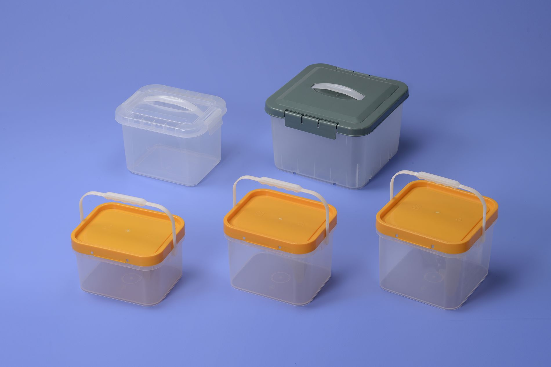 C5 Plastic Square Bucket