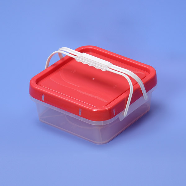 4L Plastic Square bucket